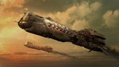 """#steampunk battleship ~ by carguin    Ohhh... """"battle""""ship... I guess I misread that as """"cruise liner!"""""""