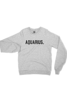 Team Aquarius Sweatshirt - Grey
