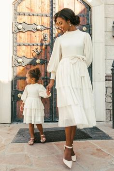 Modest Dresses, Modest Outfits, Modest Fashion, Chic Outfits, Summer Outfits, Modest White Dress, White Midi Dress, Midi Dresses, Girl Fashion