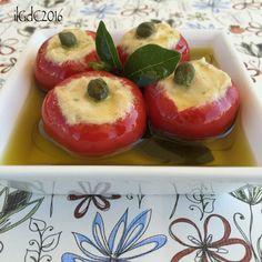 il giardino dei ciliegi: Peperoncini ripieni con il tonno e capperi prepara...
