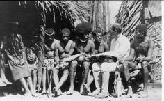 Malinowski at the Trobriand Islands