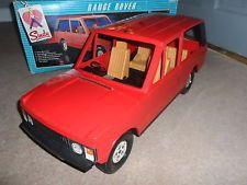 Vintage Pedigree SINDY Range Rover Jeep Toy + Box RARE 70's Cindy / Barbie Dolls