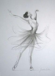Dancing Ballerina - I love the dress.