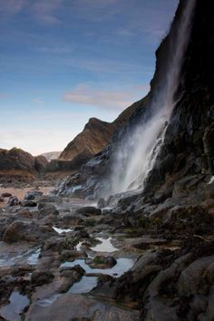 Tresaith, Cardiganshire by Mike Hillen. Available on canvas or mounted print @ http://www.made-in-wales.co.uk