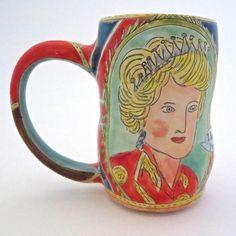 Drama Queens Mug by ForageStudiosCeramic on Etsy