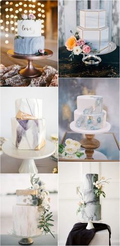 marble wedding cake ideas #weddingideas #weddingthemes #modernwedding #weddingdecor