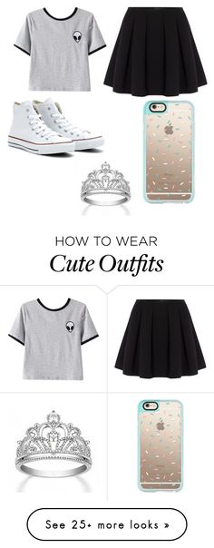 """cute outfit"" by adriaxbeautyxxxx on Polyvore featuring Chicnova Fashion, Polo Ralph Lauren, Converse and Casetify"