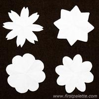 Step 5 Coffee Filter Flowers craft                                                                                                                                                                                 More