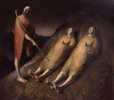 Blind Wanderer (1992) - Odd Nerdrum Paintings - The Nerdrum Institute -