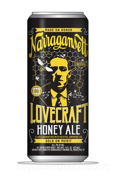 mybeerbuzz.com - Bringing Good Beers & Good People Together...: Narragansett Releases Lovecraft Honey Ale Cans