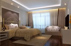 ideas for master bedroom with wooden flooring