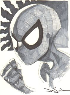 Jason Pearson- Spider-man Comic Art