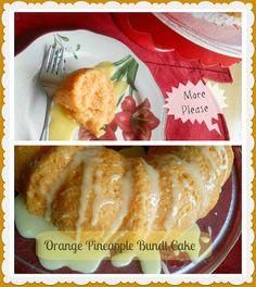 The Better Baker: Orange Pineapple Bundt Cake {2 ingredients}
