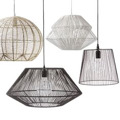 Resort Paper Rope Pendant Light Lovely Pendant Lamp projects you might create for your weekend project Bedside Pendant Lights, Rattan Pendant Light, White Pendant Light, Bedside Lighting, Dining Lighting, Pendant Lamp, Pendant Lighting, Rattan Light Fixture, Light Fixtures