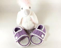 Preemie sandalias sandalias de bebé del ganchillo bebé