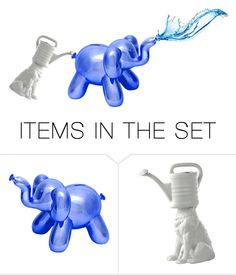 """""""Filling the elephant"""" by pepitarita ❤ liked on Polyvore featuring art"""
