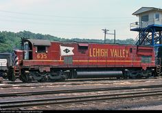RailPictures.Net Photo: LV 635 Lehigh Valley Alco C628 at Conway, Pennsylvania by Sid Vaught