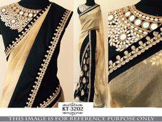 Indian New Designer Saree Wedding Party wear Pakistani Lehenga Sari Mirror Work Saree, Mirror Work Blouse, Indian Designer Sarees, Indian Designer Wear, Indian Sarees, Fancy Sarees, Party Wear Sarees, Georgette Sarees, Lehenga Choli