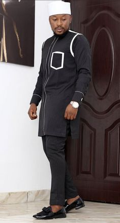 Latest African Wear For Men, African Shirts For Men, African Dresses Men, African Attire For Men, African Clothing For Men, Nigerian Men Fashion, African Men Fashion, Fashion Men, Couture Sewing Techniques