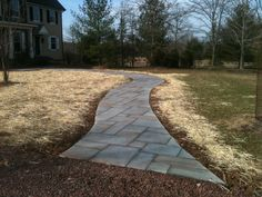 """english country walkways and steps 