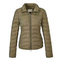 Steppjacke von OUI #green #jacket #conleys