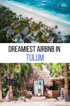 Where to stay in Mexico? Let me introduce you to the dreamiest Tulum Airbnb - for honeymooners, digital nomads & wanderers. Tree houses, jungle villas, beach condos, and chic rooms in Tulum town as well as Tulum Playa. As well as tips on how to book your Airbnb in Tulum. #mexico #tulumAirbnb in Tulum | Tulum Mexico Airbnb | Best Airbnb in Tulum | Rental houses in Tulum | Where to stay in Tulum | Tulum Accommodation | Where to stay on Tulum beach Mexico Trips, Tulum Mexico, Mexico Travel, Restaurant On The Beach, Tulum Beach, Beach Condo, Cozumel, Tree Houses, Condos