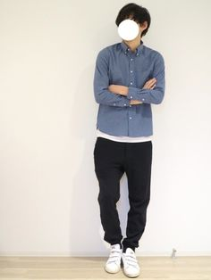 URBAN RESEARCH ROSSO MENのシャツ・ブラウス「【新色追加】ROSSO MEN ハイパフォーマンスオックスフォードB.Dシャツ」を使ったワタルのコーディネートです。WEARはモデル・俳優・ショップスタッフなどの着こなしをチェックできるファッションコーディネートサイトです。