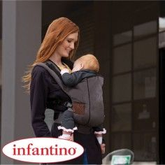 http://idealbebe.ro/infantino-marsupiu-support-carrier-cotton-p-16412.html Infantino - Marsupiu Support Carrier Cotton