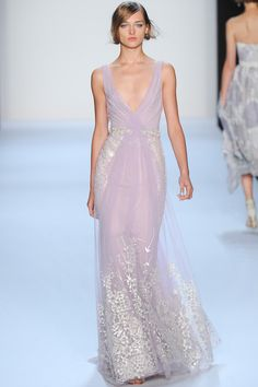 #NYFW - Runway: Badgley #Mischka Spring 2014 Ready-to-Wear Collection