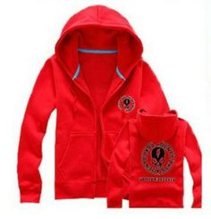 Red punch matching zipper hoodies! $42.49 http://www.hotzipuphoodies.com/punch-red-zip-hoodies/ #red #zipper #zip #up #hoodies