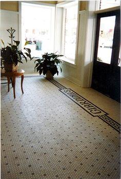 Kitchen floor 1in black hex tile or herringbone 1.75in hardwood - Kitchens Forum - GardenWeb#