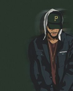 Bryson Tiller Trill Art, Dope Wallpapers, Dope Cartoons, Dope Cartoon Art, Hypebeast