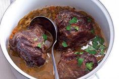 Hovězí líčka na pivě Thing 1, Tasty, Beef, Cooking, Recipes, Kochen, Food Recipes, Rezepte, Ox