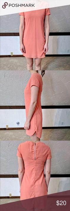 Formal sundress Coral formal sundress. Longer in back Japna Dresses Midi