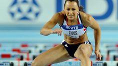 Jessica Ennis leads pentathlon at World Indoors