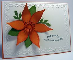 stamping up north: Stampin up Build a Blossom Stamp and Punch