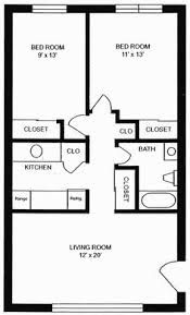 Image result for interiors & floor plans of 750 SF, well designed, 2 bedroom homes