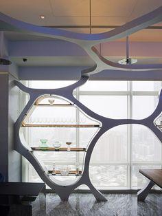 Silks Club, Kaohsiung Taiwan | CT Design + PU Architecture Association & Ya-Yuan Design; Photo: Yuan Wei-Ming & Alien Art / Shao Yaman | Archinect