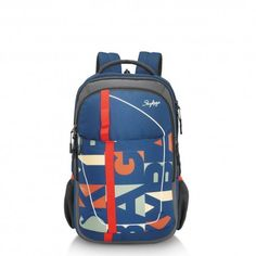 Skybags Polyester Backpack-Blue with Friendsmoda Rs.1,739
