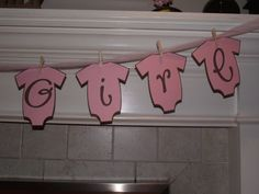 Baby Shower Decorations Twins Its a girl by CreativePartyBanners