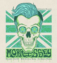 Poster Design for Morrissey at the Fox Theater Pomona by Mazza Rock Posters, Band Posters, Concert Posters, Gig Poster, Music Posters, Vintage Rock Tees, Lyric Art, Rock Art, Picture Quotes
