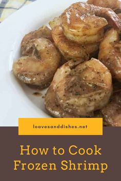 Ready in just 15 minutes! Juicy, tangy, buttery and bursting with flavor! How to cook frozen shrimp is super easy! #shrimp #frozen #easy #fast Dinner Recipes Easy Quick, Great Recipes, Favorite Recipes, Amazing Recipes, Fast Dinners, Cheap Dinners, Easy Family Meals, Easy Meals, Fall Recipes
