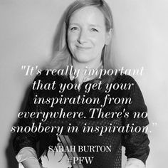 As Creative Director of #McQueen, Sarah Burton is known for her bold, strong aesthetic and couture like attention to detail. Expect exquisite designs from the British designer when she presents her #FW15 collection later today. #PFW