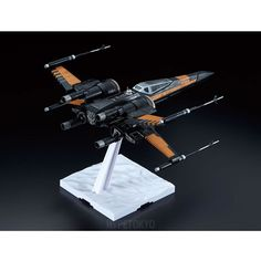 Star Wars The Force Awakens Bandai 1/72 Plastic Model : X-Wing Fighter [Poe's Use]