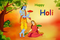 The festival of Holi can be regarded as a celebration of the colors of unity and brotherhood. So we all celebrate Holi with colours.