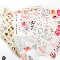 Glam Planner Mystery Kit - Index