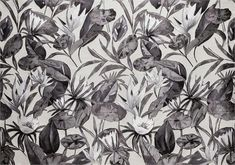 BROCHIER Home decor textile - Interior Design Fabric J3540 MORGANA 001 Argento