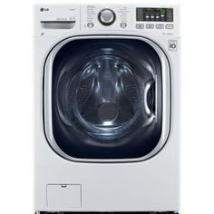 LG Electronics 4.3 DOE cu. ft. High-Efficiency All-in-One Washer and Electric Ventless Dryer in White WM3997HWA at The Home Depot - Mobile