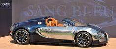 The Bugatti Veyron Grand Sport; Sang Bleu. Tell me this isn't an exceptionally pretty car. Hypercar royalty, this is.