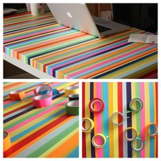DIY tape table